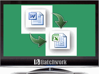 Batch Word to Excel Converter