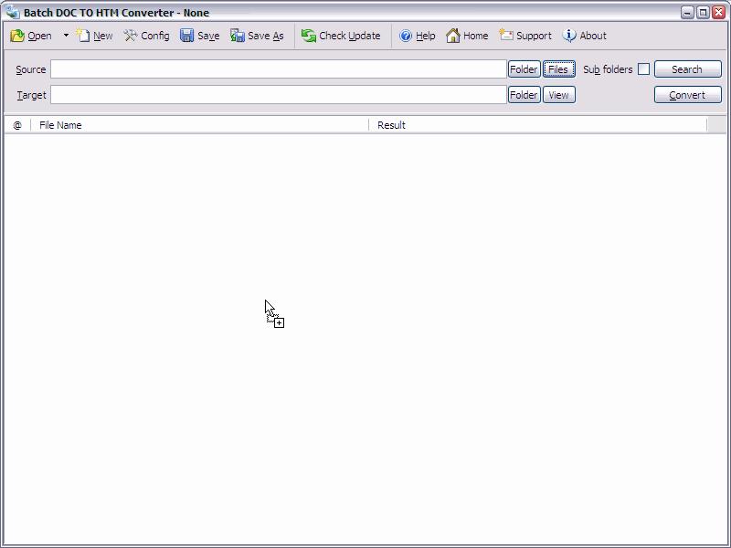 Batch DOCX to HTML Converter