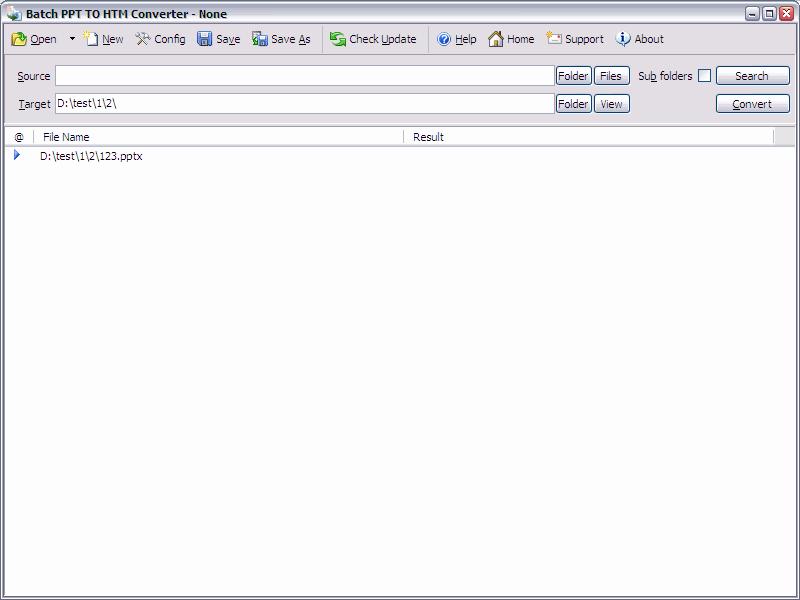 Batch PPT to HTML Converter