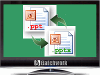 Batch PPT and PPTX Converter
