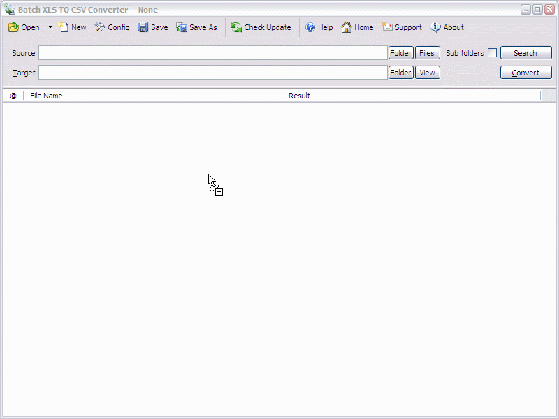 Batch Excel to CSV Converter